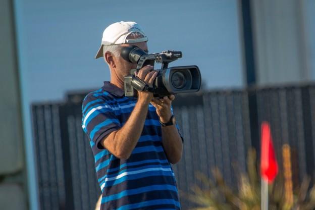 dad filming